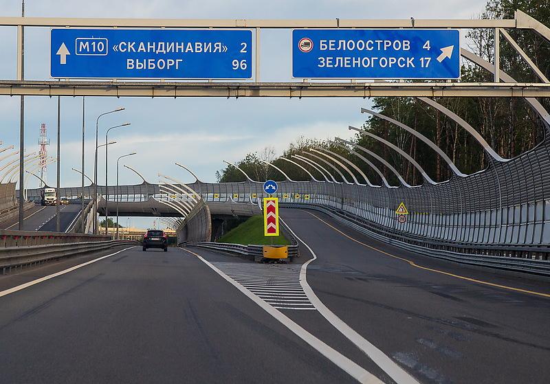 В Петербурге сообщили об изменении сроков ремонта трассы «Скандинавия»