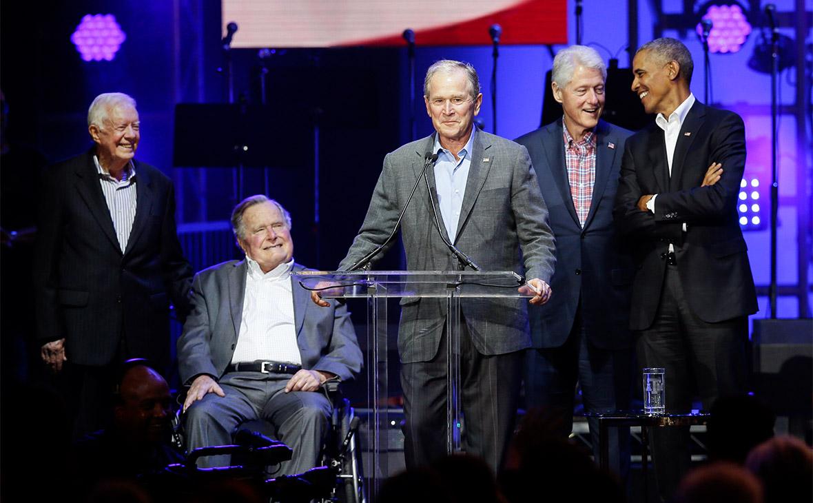 Пятеро экс-президентов США собрали на благотворительном концерте $31 млн