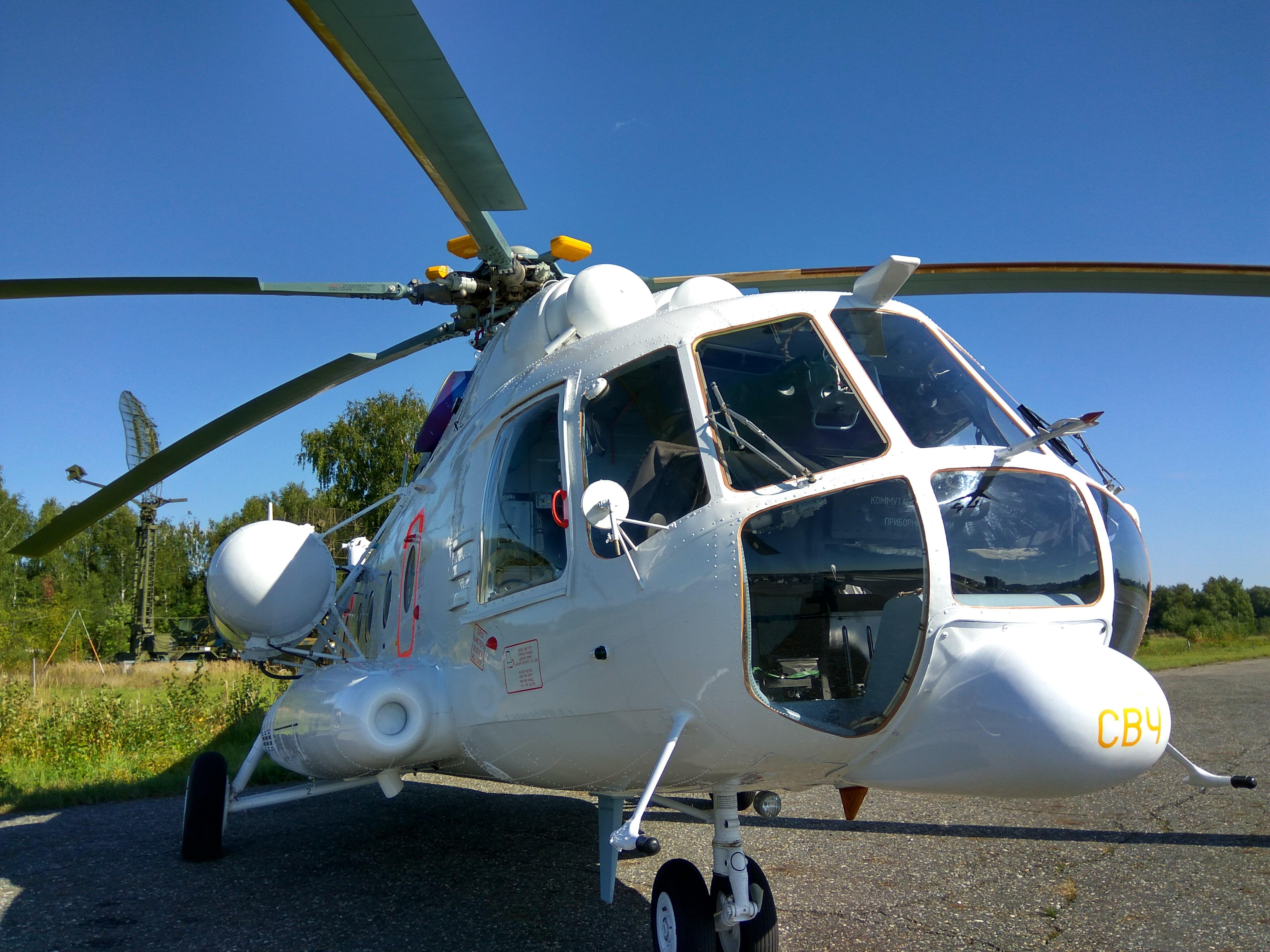 Флот санавиации РФ пополнили два казанских вертолета Ми-8