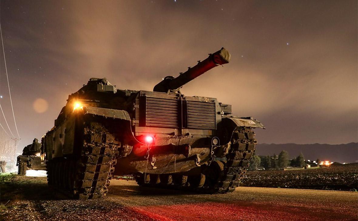 СМИ узнали о вошедших в сирийский Африн турецких танках