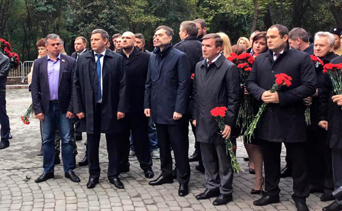 Сурков открыл в Ростове-на-Дону памятник героям Донбасса
