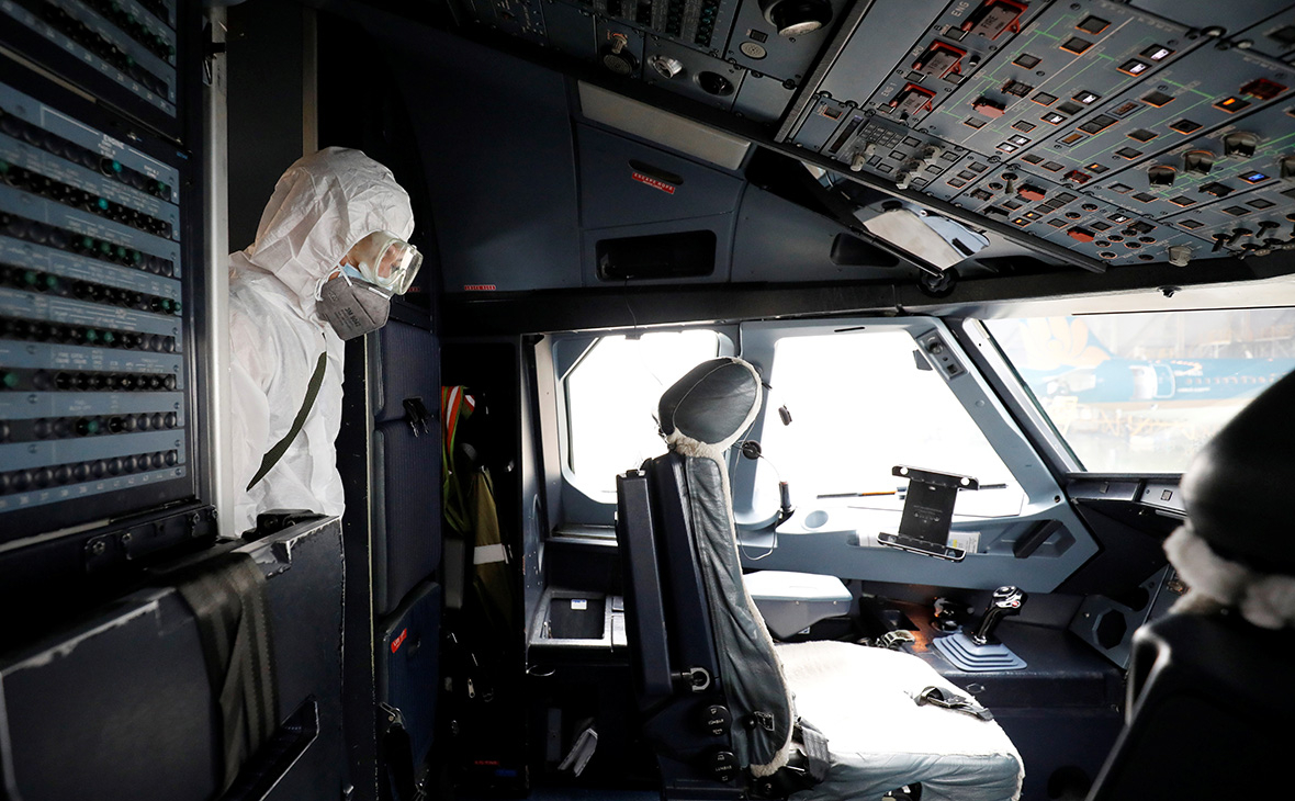 Эксперты оценили потери авиакомпаний от коронавируса в $1,5 млрд