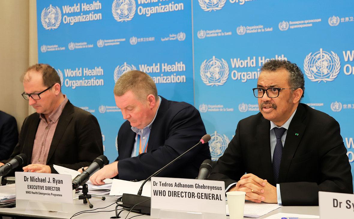 Глава ВОЗ похвалил Россию за агрессивный ответ на появление коронавируса