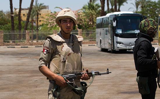 В Египте при атаке террористов погибли более 25  христианских паломников