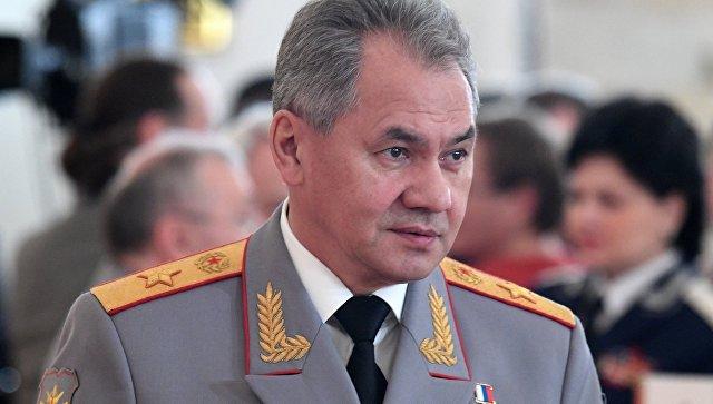 В Новосибирск приехал министр обороны РФ Сергей Шойгу