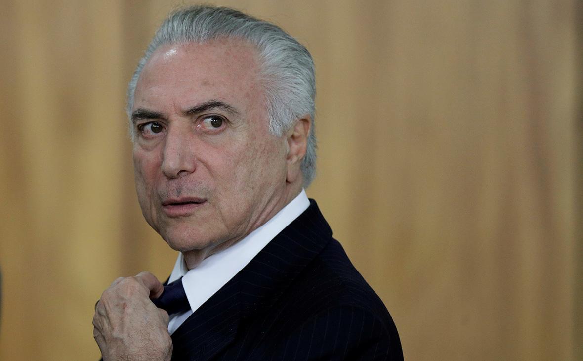 Опасная должность: почему в Бразилии снова хотят осудить президента