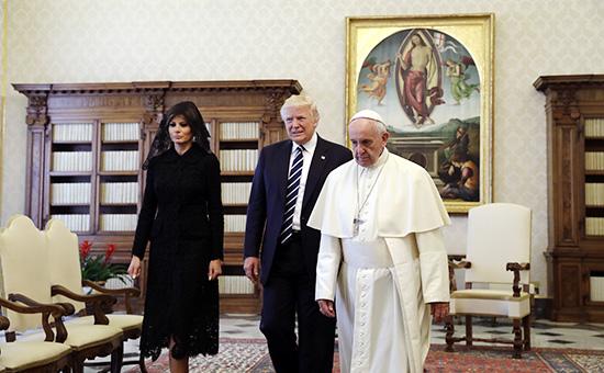 Знакомство спапой: какустроен прием у понтифика