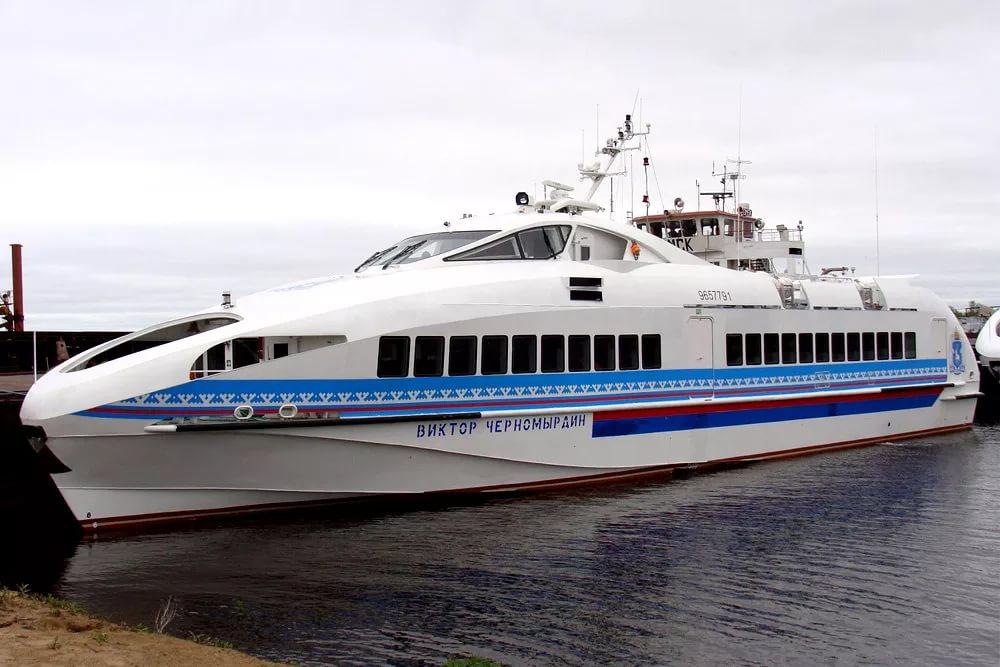Татарстан построил два скоростных корабля для арабских шейхов