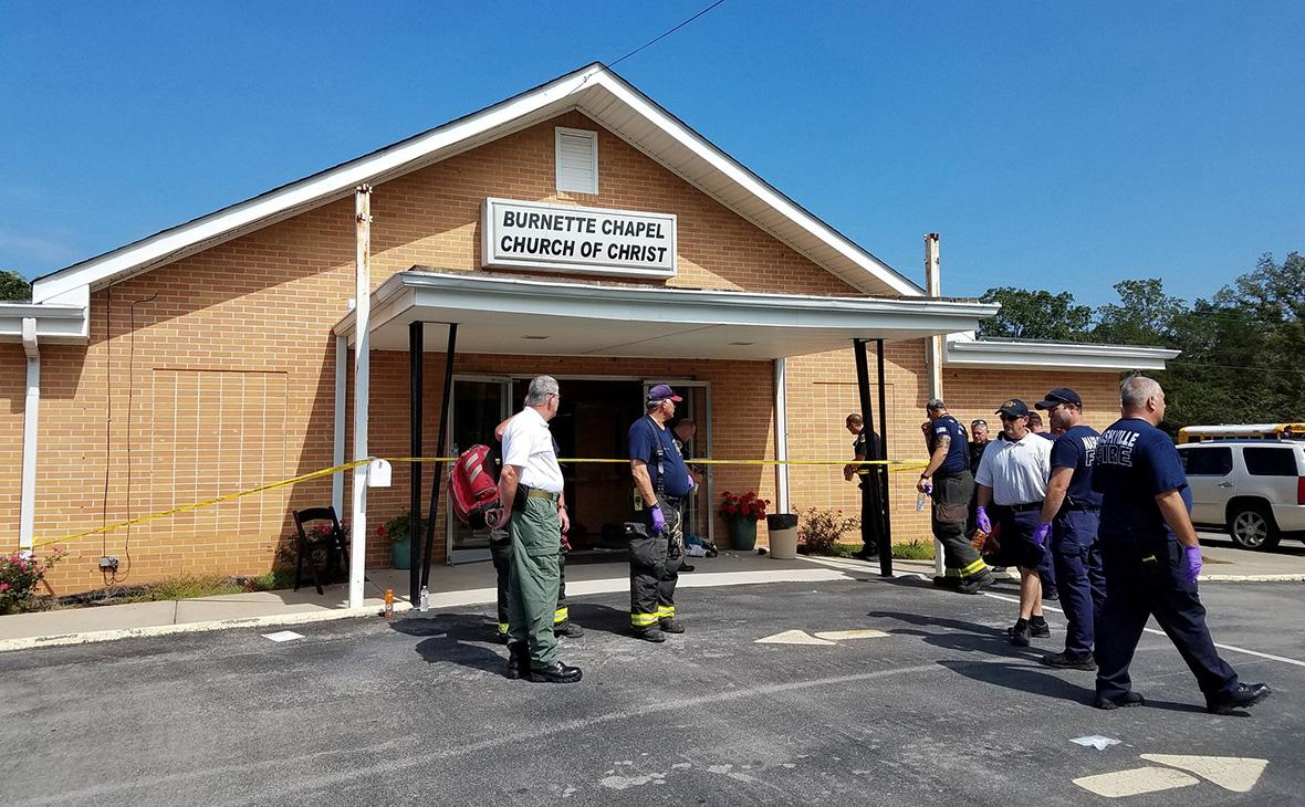 В церкви в американском штате Теннесси произошла стрельба
