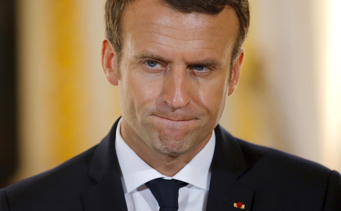 Елисейский творец: почему рейтинг президента Франции упал вдвое