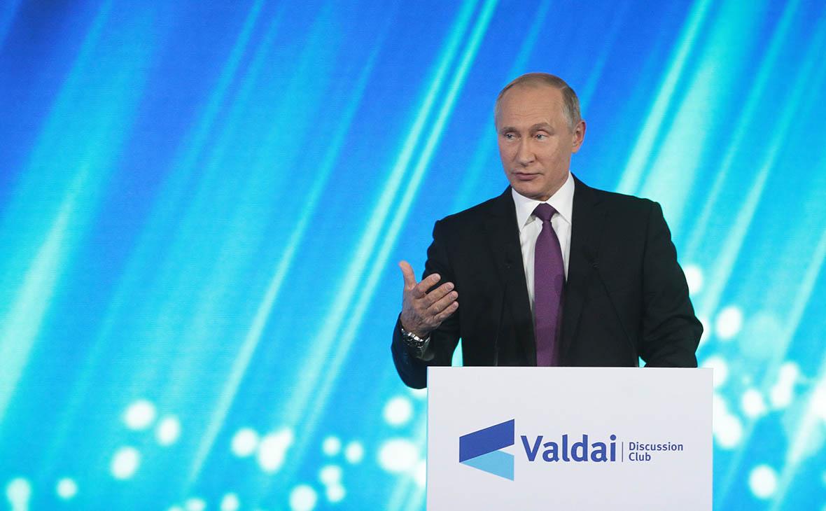 Путин ответил анекдотом на вопрос о своем будущем