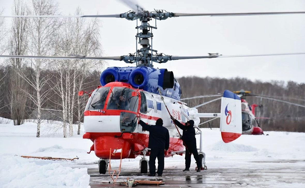 Башкирия планирует купить вертолет для нужд спасателей и МВД