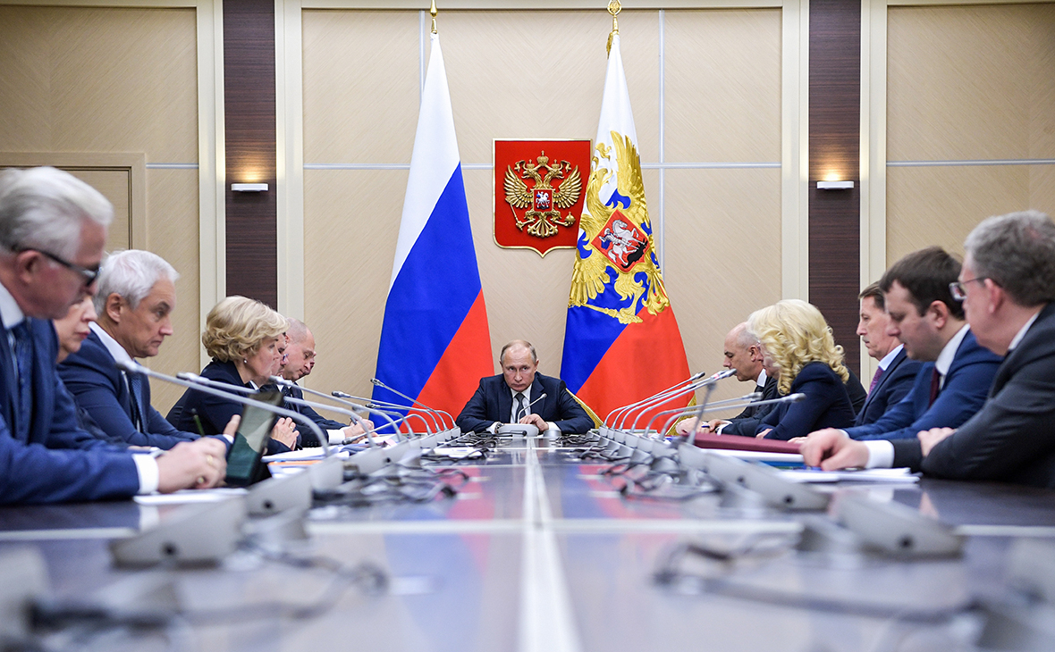 На совещании у Путина поспорили об инвестициях по списку Белоусова