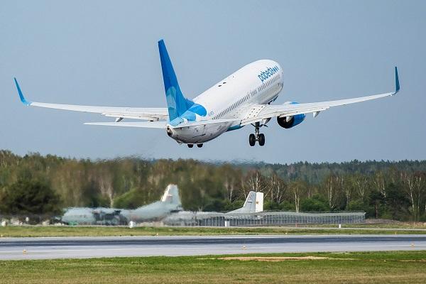 Самолет, летевший из Сочи в Тюмень, совершил экстренную посадку