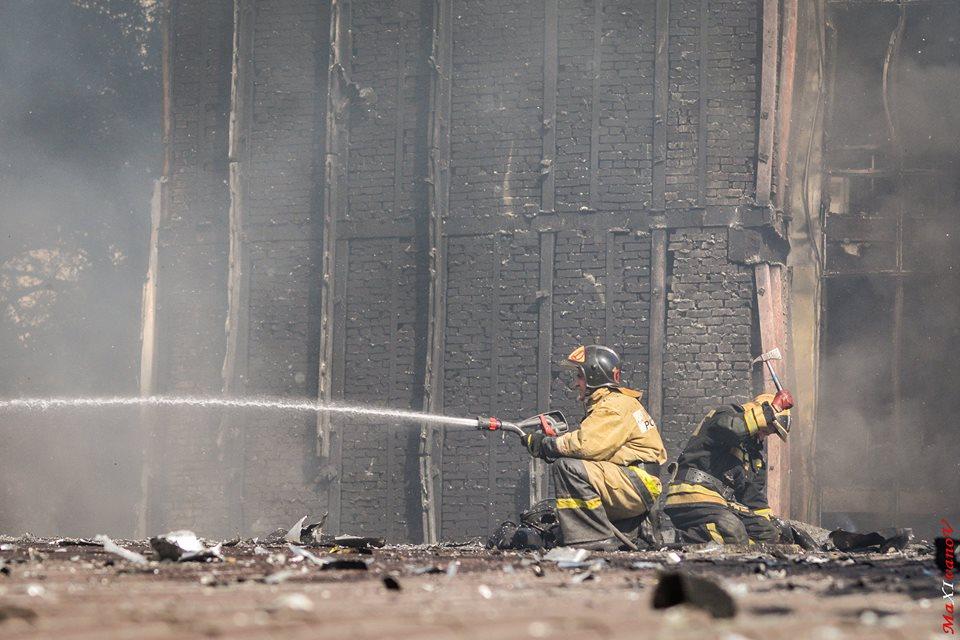 Пожар в гостинице в центре Ростова ликвидировали
