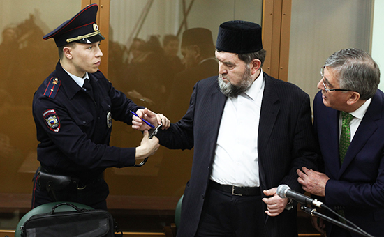 Имам мечети вМоскве получилтри года колонии заоправдание терроризма