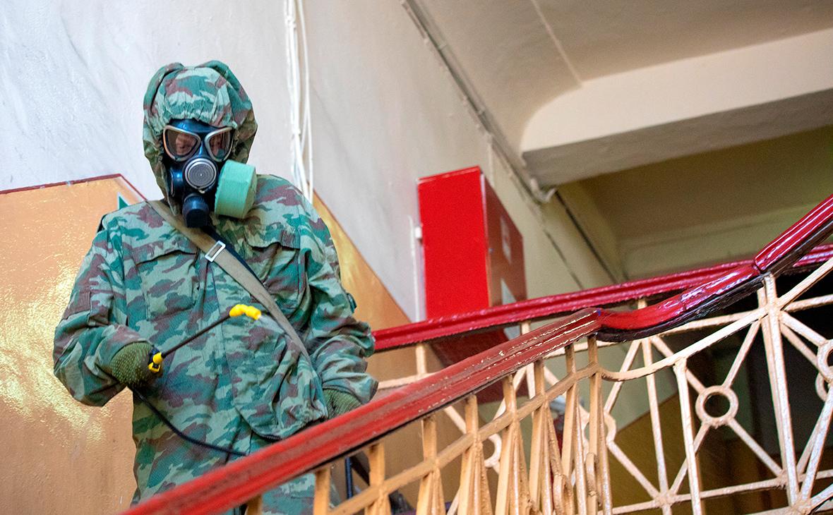 Для борьбы с коронавирусом привлекли 30 тыс. военных