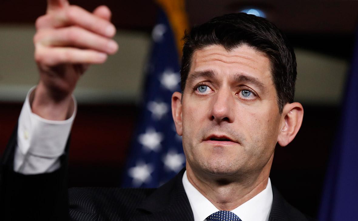 Спикер конгресса США призвал принять закон о санкциях против России