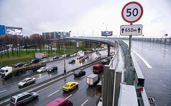 Эксперты предложили снизить скоростной лимит в Москве