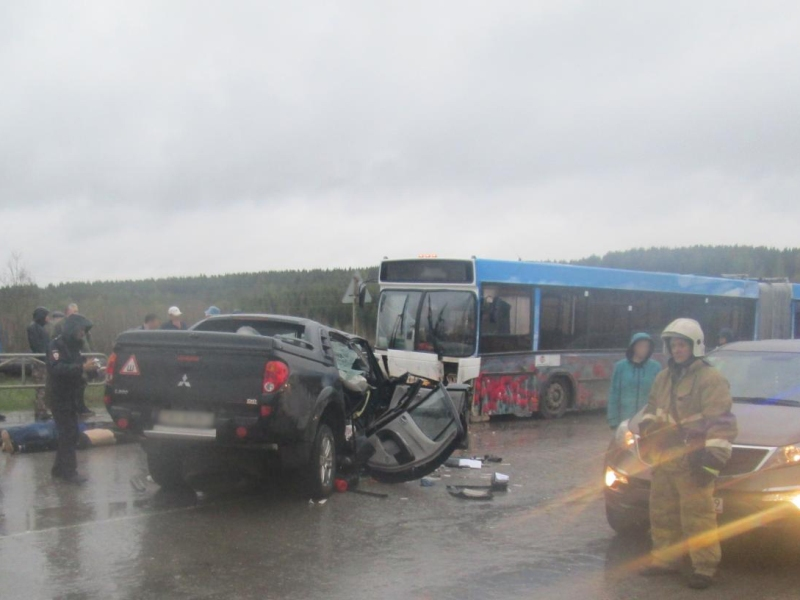 В Прикамье в ДТП погибли три человека