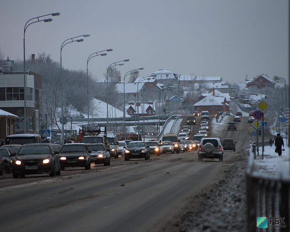Татарстан получит 578,7 млн рублей на новые дороги