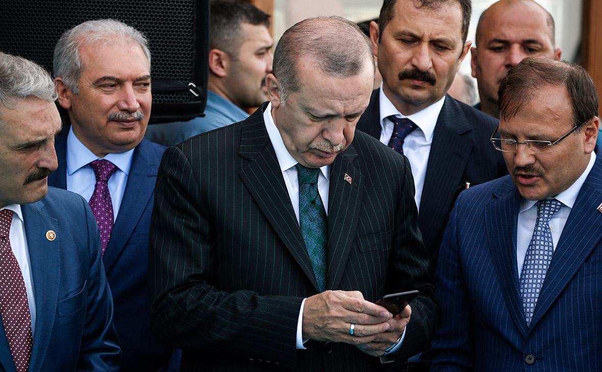 Эрдоган предложил отомстить США бойкотом iPhone