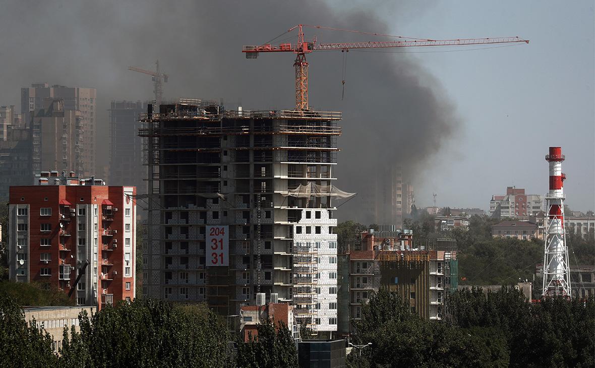 В Ростове-на-Дону пожар охватил 25 домов