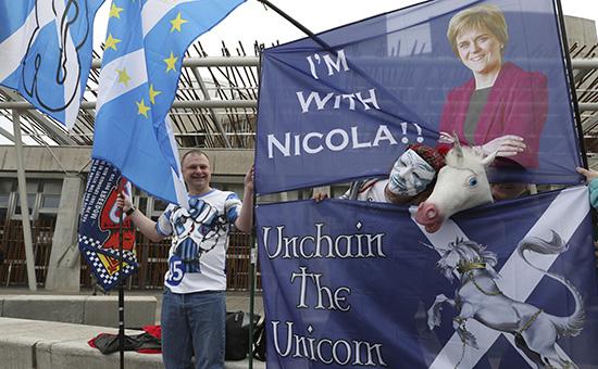Шотландский парламент проголосовал зановый референдум онезависимости