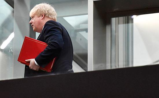 Глава британского МИДа Борис Джонсон отменил свой визит вМоскву