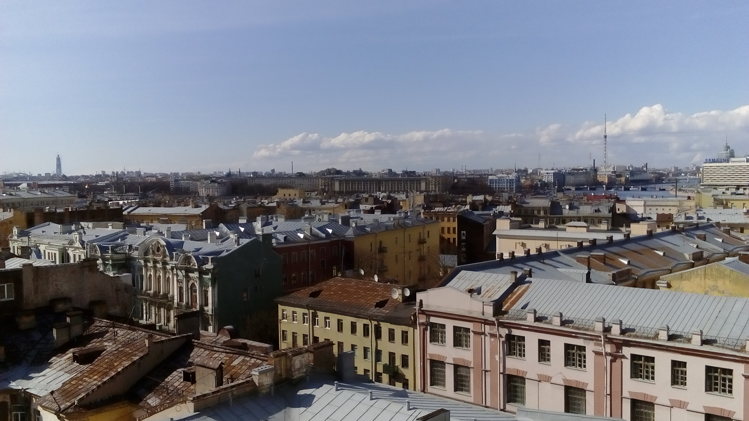 Синоптики рассказали, как петербуржцы встретят май
