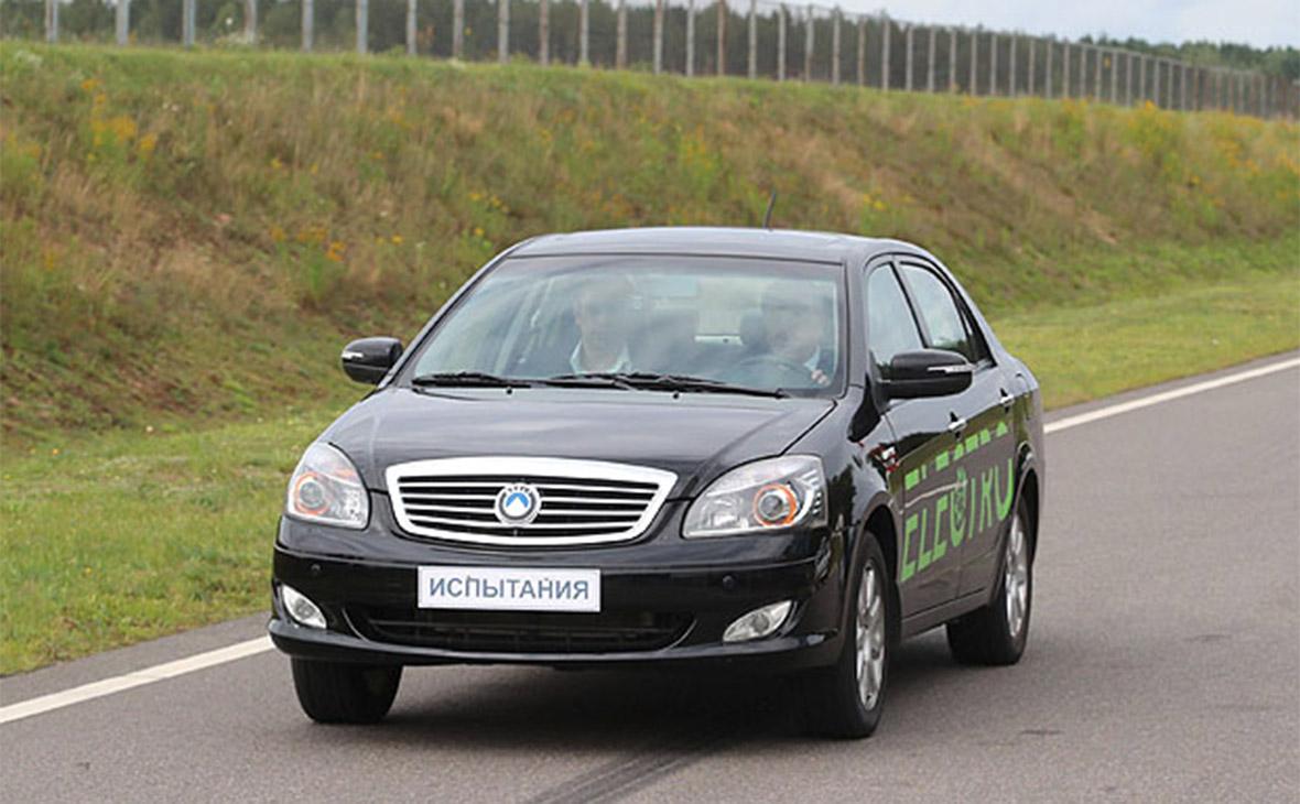 Белоруссия представила первый электромобиль собственного производства