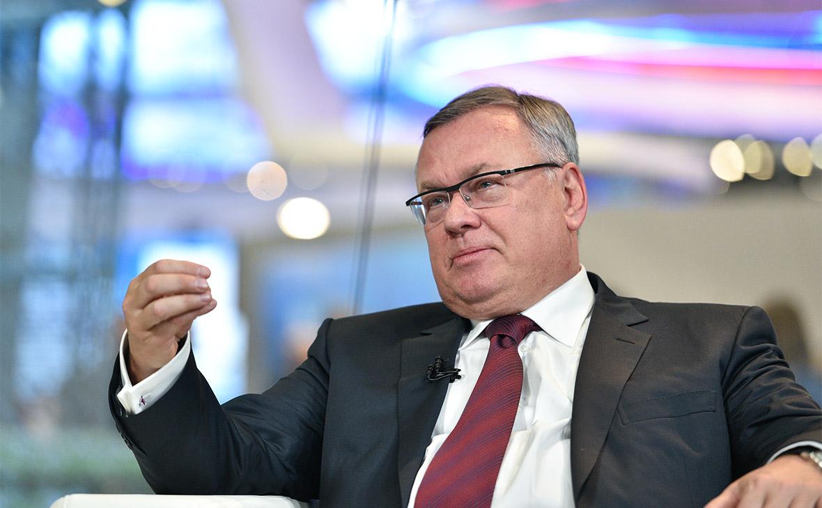 Костин рассказал о возможном слиянии «ВТБ Страхования» с СОГАЗом