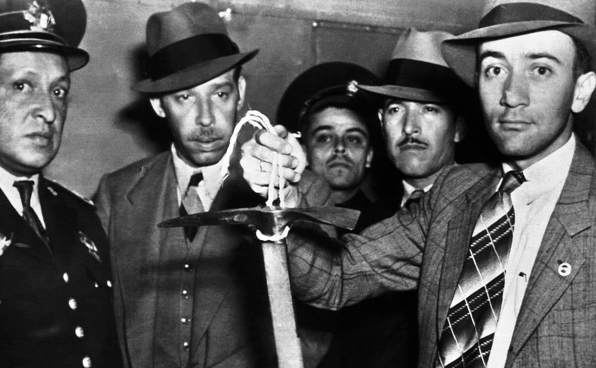 Орудие убийства Троцкого покажут широкой публике впервые за 78 лет