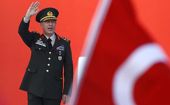 Глава Генштаба Турции заявил одостижении армией своих целей вСирии