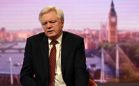 Министр поBrexit назвал грядущие переговоры сЕС «сложнейшими вжизни»