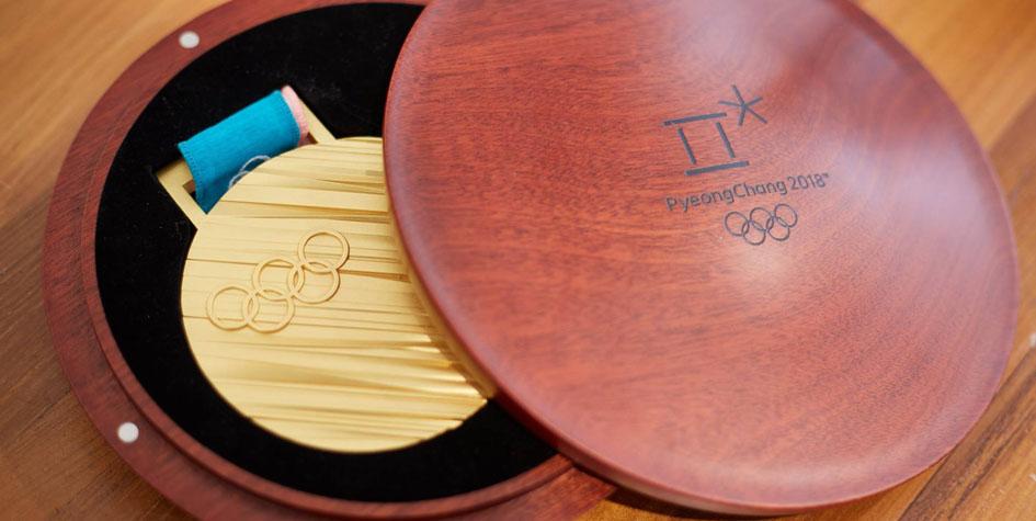 Организаторы Игр-2018 в Пхенчхане представили олимпийские медали