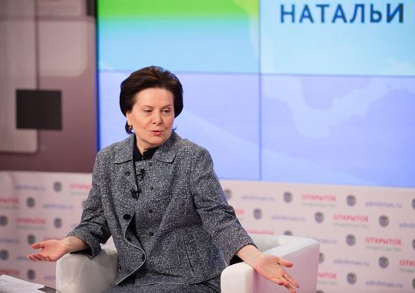 Комарова объяснила, почему ее зарплата ниже доходов губернатора Ямала