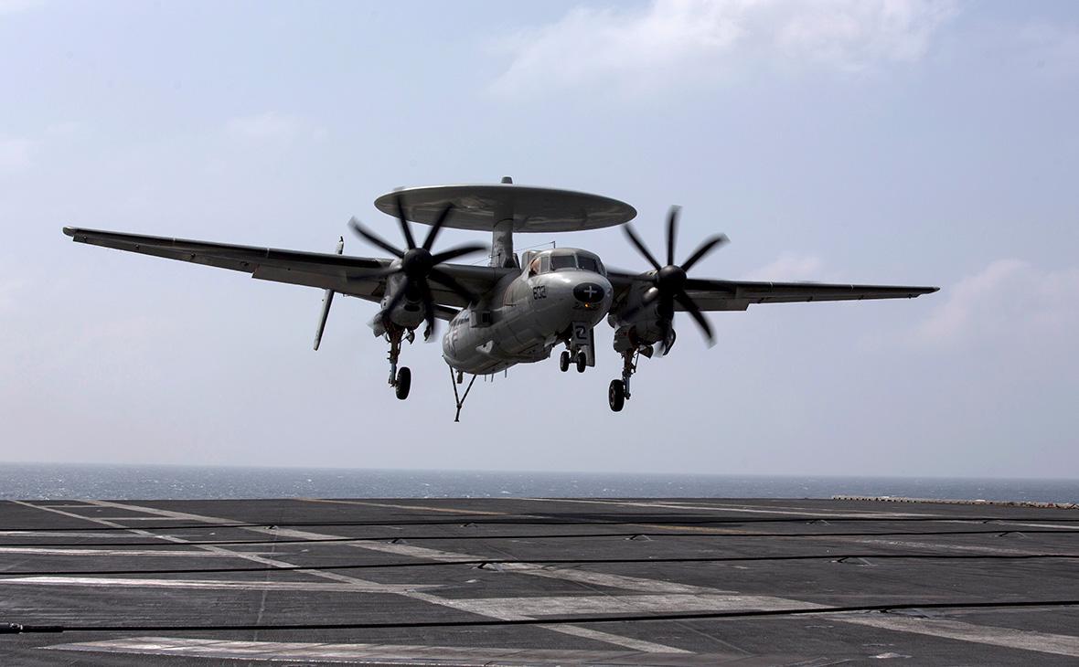 Самолет ВМС США потерпел крушение у берегов Окинавы