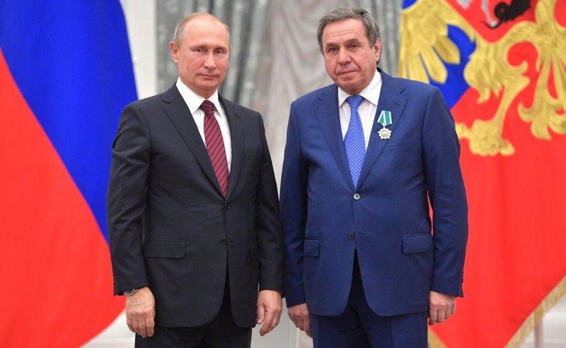 Путин вручил Городецкому орден за дружбу