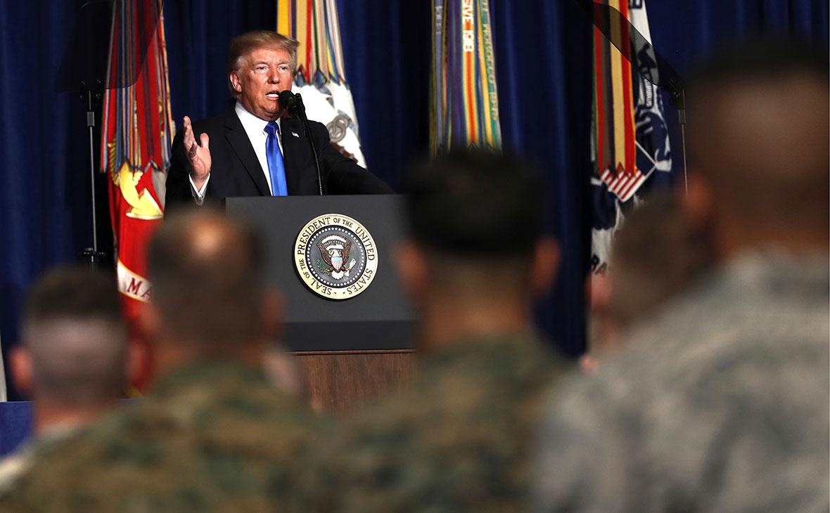 Трамп заявил о недопустимости поспешного вывода войск из Афганистана