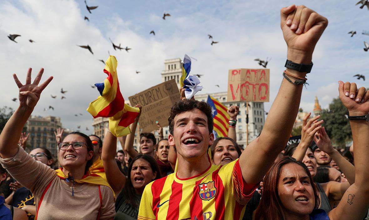 Прямая и явная угроза: успеетли Каталония объявить независимость