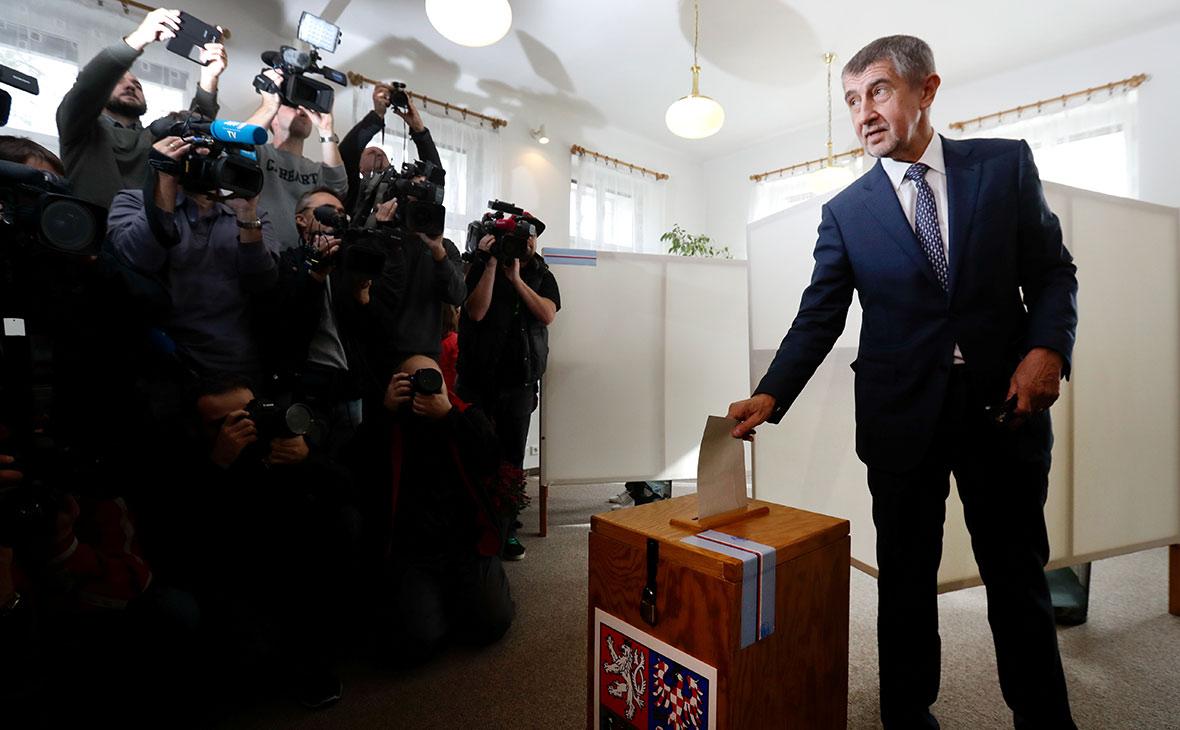 Миллиардер Андрей Бабиш выиграл парламентские выборы в Чехии