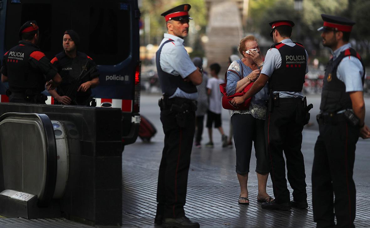 СМИ сообщили о задержании подозреваемого в теракте в Барселоне