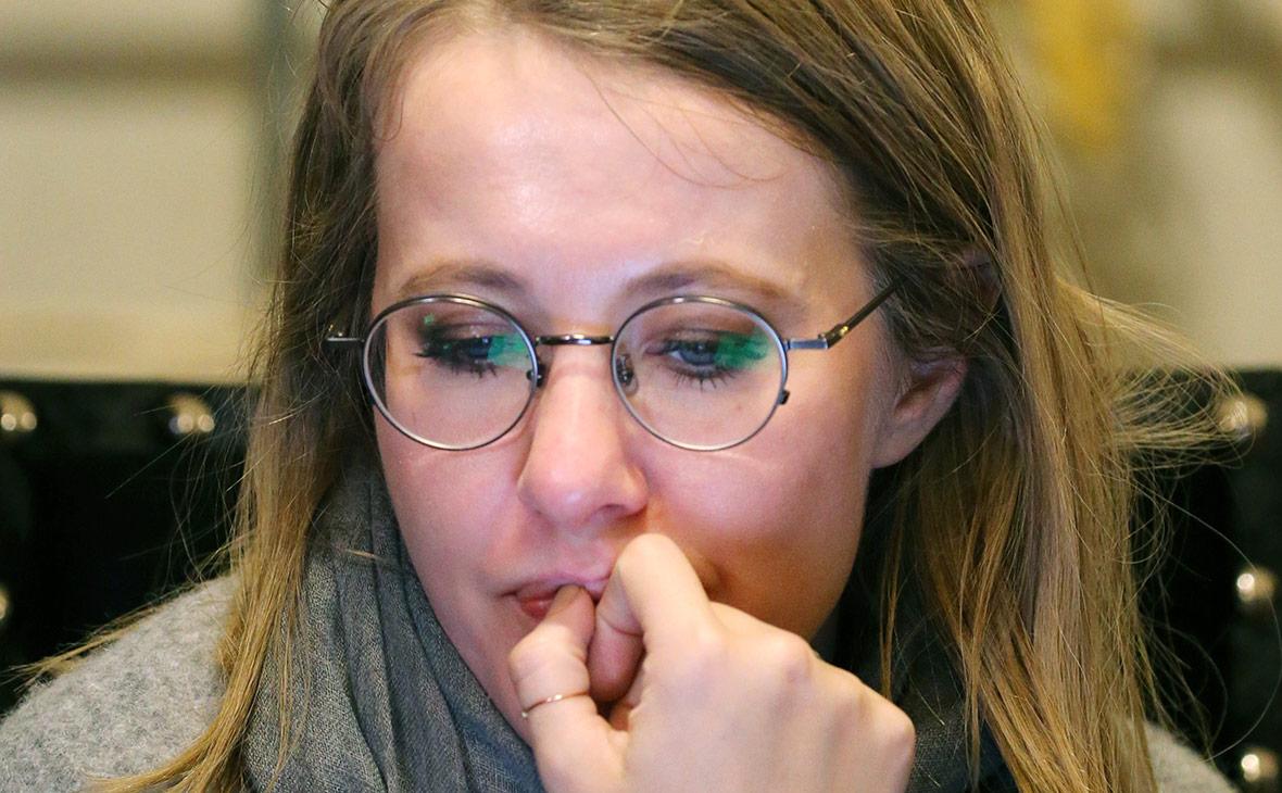 Собчак рассказала о проверке Генпрокуратуры из-за ее слов о Крыме