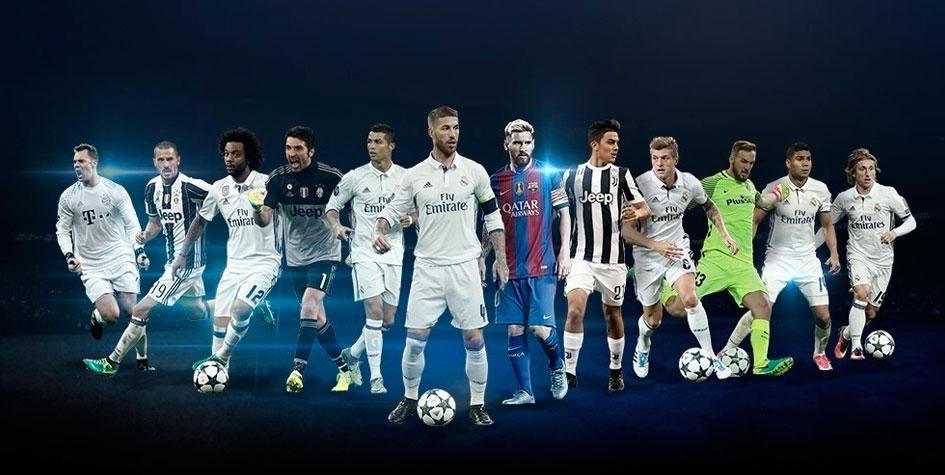 УЕФА не включил Неймара в список лучших форвардов Лиги чемпионов