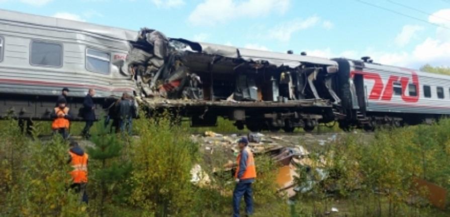 В аварии с поездом «Адлер — Нижневартовск» погиб пермяк