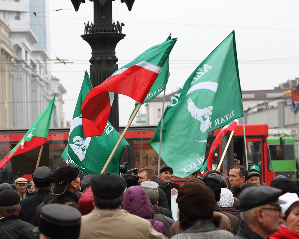 На митинге в память о взятии Казани запретили обсуждать татарский язык