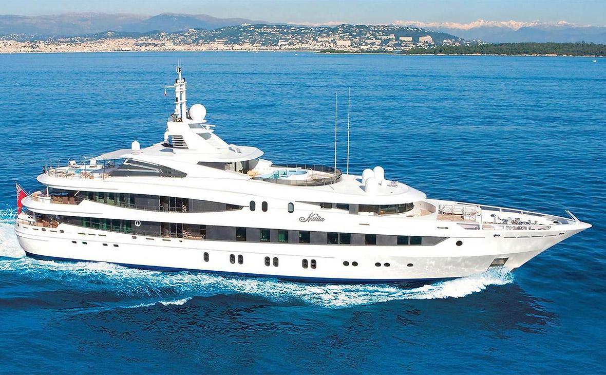 Goldman Sachs продал за долги бывшую яхту Усманова