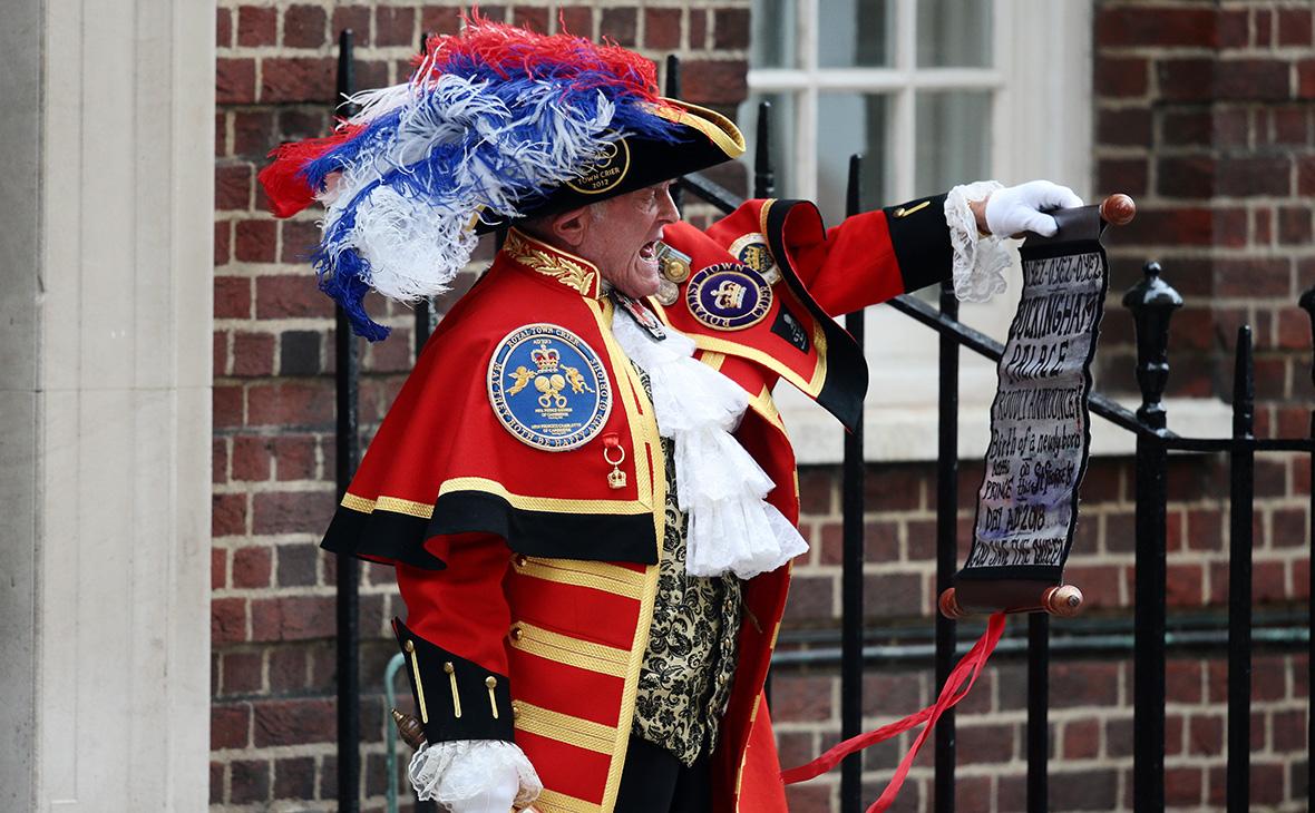 Супруга принца Уильяма герцогиня Кембриджская родила сына