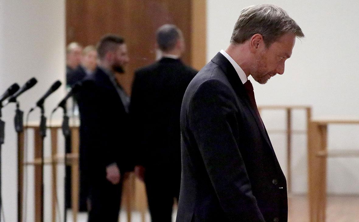 Немецкие либералы вышли из переговоров по формированию правительства